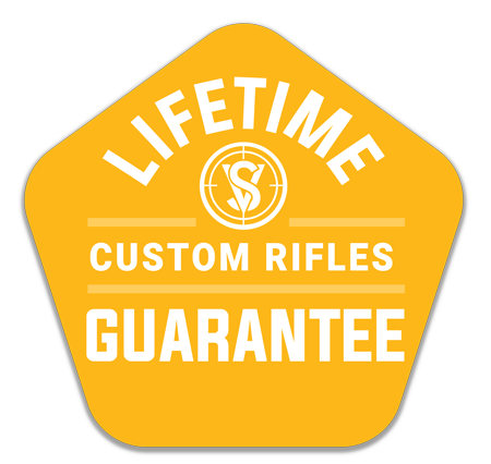life time guarantee on custom ar rifles