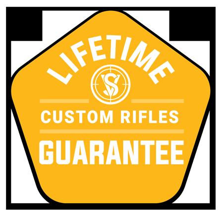 life time guarantee on custom rifles