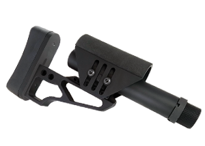 AR rifle buttstocks