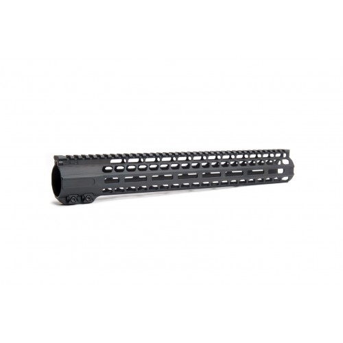 "SLR 308H 15"" Solo Ultra Lite Series MLOK Handguard for ar rifle"