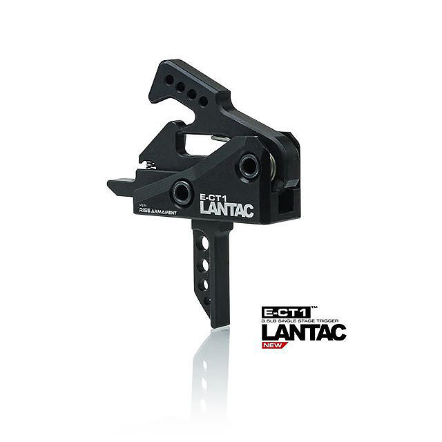 LanTac E-CT1™ Single Stage 3.5lb ar Trigger (Flat)