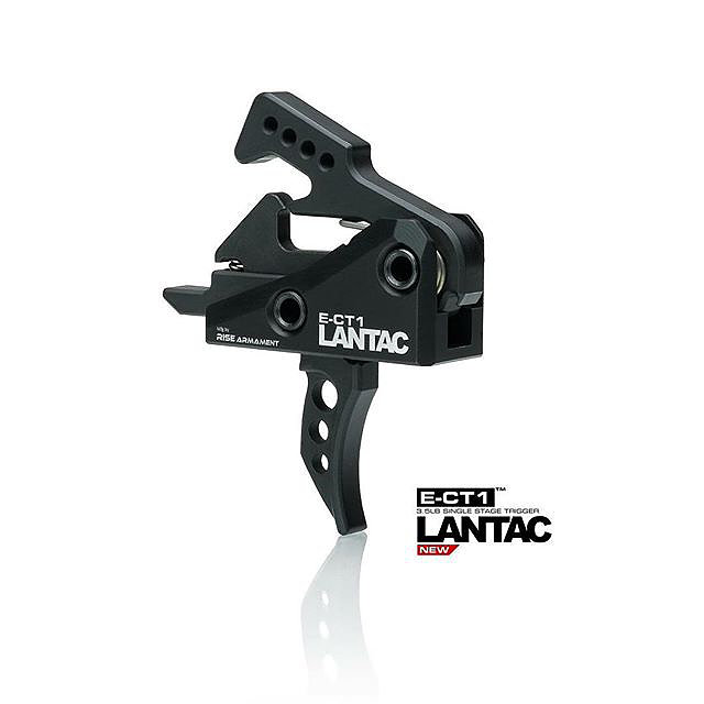 LanTac E-CT1™ Single Stage 3.5lb AR Trigger (Curved)