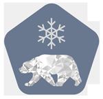 badge representing AR Rifle cyrogenically treated