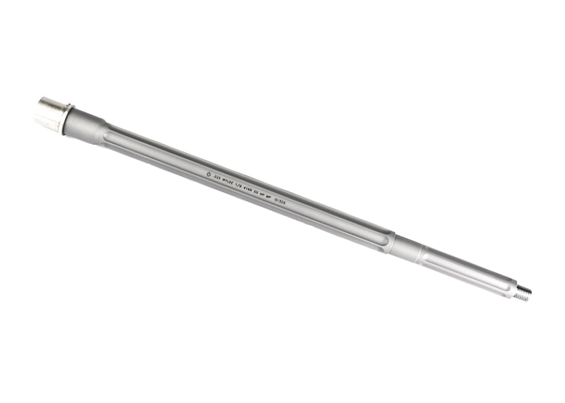 18″ .223 Wylde SPR Fluted Stainless Steel Rifle Length AR 15 Barrel, Premium Series