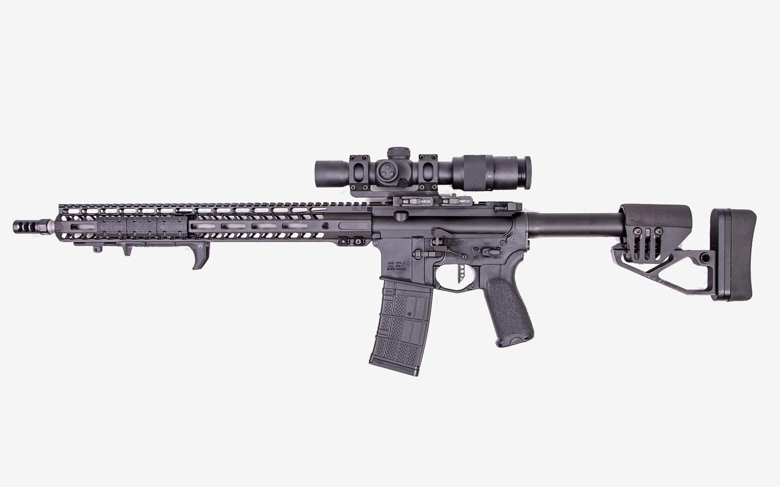 sv left ar rifle